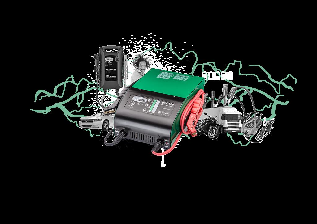 Die volle Ladung Batterieladekompetenz
